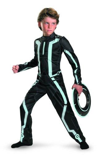 Tron Disney Legacy Deluxe Kostüm für Kinder