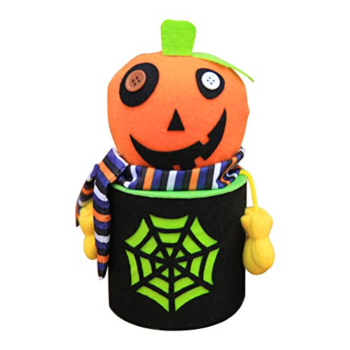 BESTOYARD Halloween Süßigkeiten Halter Kürbis Treat Eimer Cookie Süße Halter Container Kinder Geschenkbox Halloween Party Favors