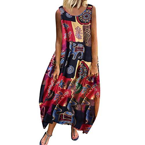 BoyYang ✿ Kleider Damen ✿ V-Ausschnitt Kurzarm Boho Sommerkleid Strandkleid Casual Mini Abendkleider Elegant Cocktailkleid Multi-Way Maxikleid Kurz Chiffon Party Kleid