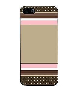 Fuson Designer Back Case Cover for Apple iPhone 4 (designer pattern theme rangoli art )