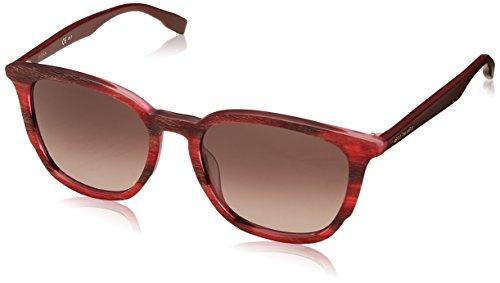 BOSS Orange Herren BO 0300/S 3X 2OD 53 Sonnenbrille, Rot (Matt Burghorn Pink)
