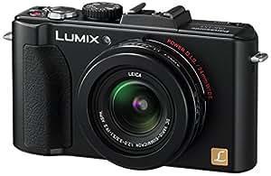 """Panasonic LUMIX DMC-LX5EG-K Appareil photo numérique -10 MP / Zoom optique 3,6x / Ecran 7,5 cm (3"""") / Stabilisateur d'image / HDMI Noir (Import Allemagne)"""