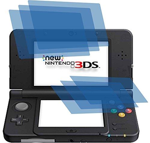 6x ANTIREFLEX matt Schutzfolie für Nintendo New 3DS Premium Displayschutzfolie Bildschirmschutzfolie Schutzhülle Displayschutz Displayfolie Folie