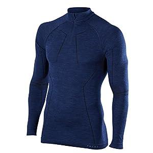 FALKE Herren Wool-tech Zip Shirt Men Sportunterwäsche