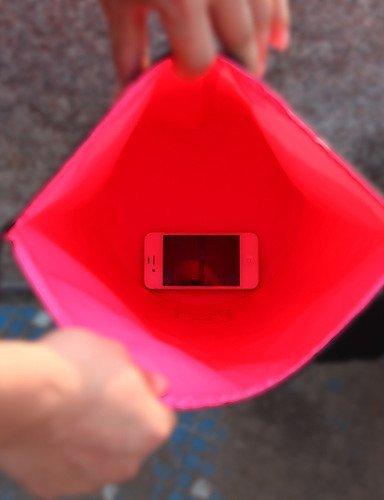 ZQ at6624 10 l Außenströmungstauchen wasserdichte Tasche pink-20 cm