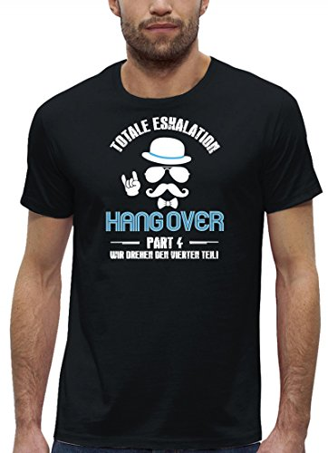 Team Papa T-shirt (Groom Junggesellenabschied JGA Premium Bio Baumwoll Herren Männer T-Shirt Stanley Stella Team Bräutigam Hangover Teil 4, Größe: M,Black)