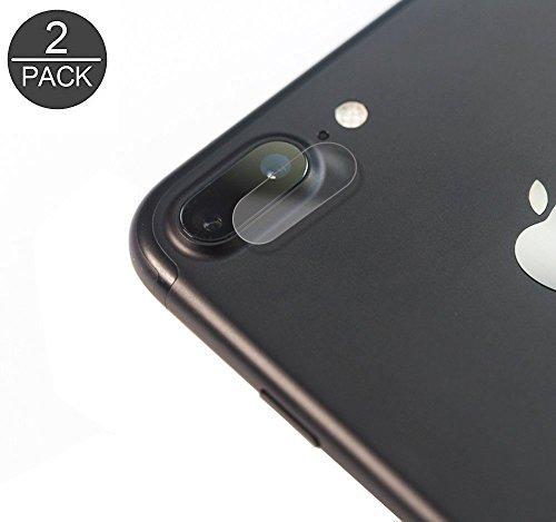 4 Stück Schutzfolie für iPhone 7 Plus Kamera / iPhone 8 Plus Kamera, Akwox Kratzfest Panzerglasfolie für iPhone 8 Plus Kamera / iPhone 7 Plus Kamera (Wireless-kameras Für Iphone)