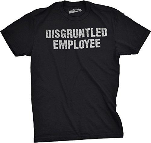 6e266d70 Crazy Dog Tshirts - Mens Disgruntled Employee Funny Co Worker Career Boss  Job T Shirt (