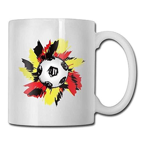 Germany Flag Soccer Shoot Special Coffee/Tea Mug.Birthday Gift For Men&Women,Mom,Dad,Sister,Boyfriend