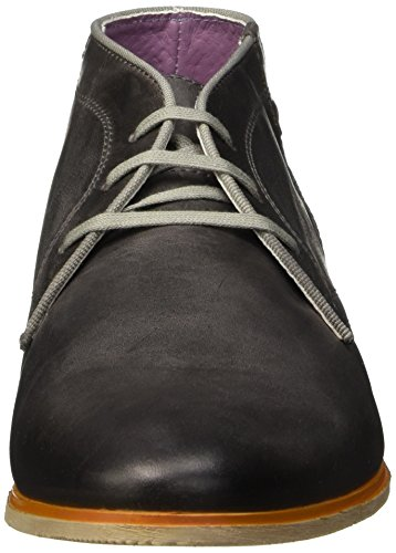 bkr B981 Cow6, Chaussures lacées homme Gris (Cow Taupe)