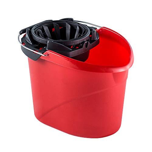 Vileda SuperMocio - Cubo de fregar con escurridor