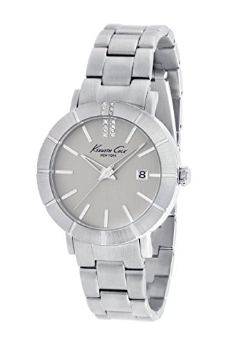 Kenneth Cole Women's Quartz Watch with Silver Dial Analogue Display and Stainless Steel KC4867 (Certified Refurbished)