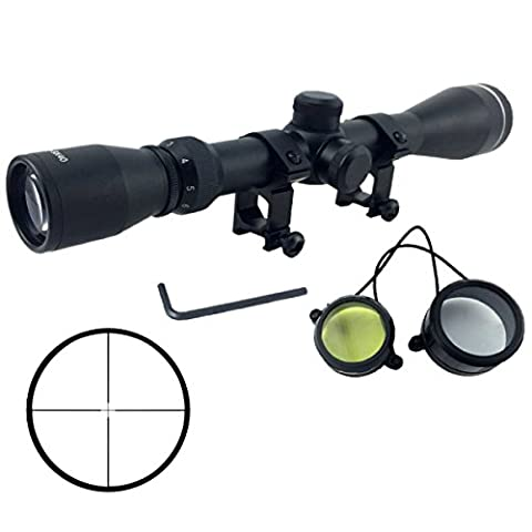Latinaric 3-9x40 Hunting Rifle Scopes Optical Rifle Crosshair Tactical Gun Scopes With Rail Mounts