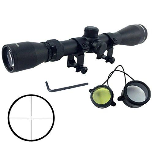Latinaric Tactical Zielfernrohr mit Schutzkappe Scopes 3-9x40 Rot Grün mit Montagehalterung