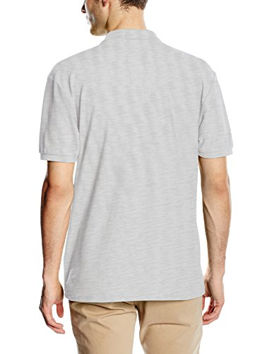 Fruit of the Loom Herren Poloshirt 65/35 Pique Polo Grey (Heather Grey)