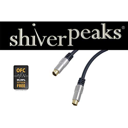 shiverpeaks sp-Professional S-VHS Anschlusskabel, 1,0m