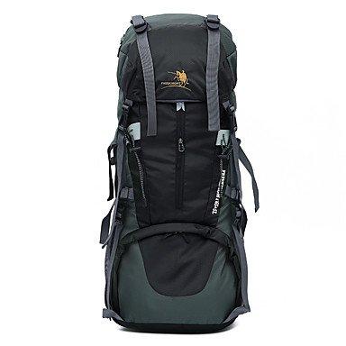 BBYaKi 65 L Organisateur Voyage Sac À Dos Randonnée Pack Voyage Camping & Randonnée Multifonctionnel Nylon