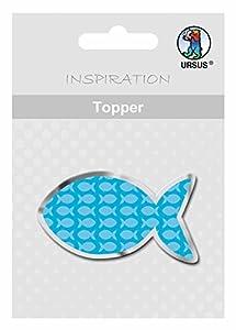 Ursus 13334601 Joy Photo Board - Tablero (DIN A4, 10 Hojas), Fische