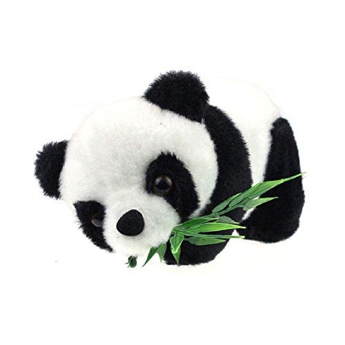 Malloom Cadeau De NoëL Bébé Enfant Mignon Panda Douce Peluche Douce Jouet De Pou
