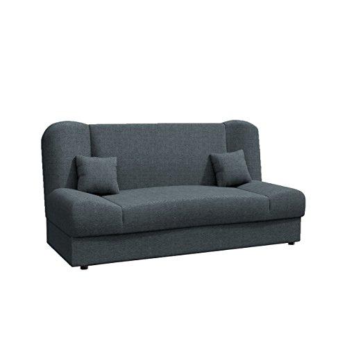 Schlafsofa Jonas SALE, Ausverkauf, Sofa mit Bettkasten und Schlaffunktion, Schlafc...