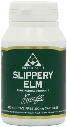 Bio Health Slippery Elm Capsules 300mg Pack of 120