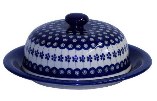Bunzlauer Keramik Cloche à Fromage/Plateau Cloche Grand modèle Ø 24.7 cm dans Le Bar Motif 166 a