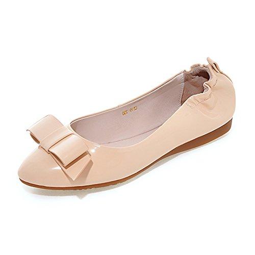 fashion chaussures de Dame egg roll/escoge los zapatos/boucle côté appartements/Scoop doux des femmes enceintes par le bout du Soulier B