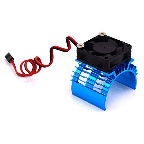 lhi-110-rc-model-car-cooling-fan-aluminum-heat-sink-fit-540-550-motors-7016-blue
