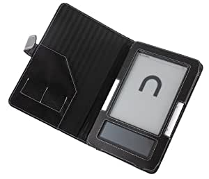 Cover-Up Barnes & Noble Nook Leather Case (Book Style) - Black