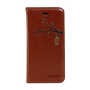 Hamee TM Premium PU Leather Magnetic Flip Wallet Case Card Pocket Cover Stand for OnePlus Three / One Plus 3 - Design 18