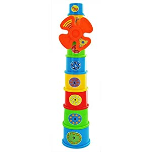 Funky Windmill Stacking Learning Cups - Suitable From 12 Months +