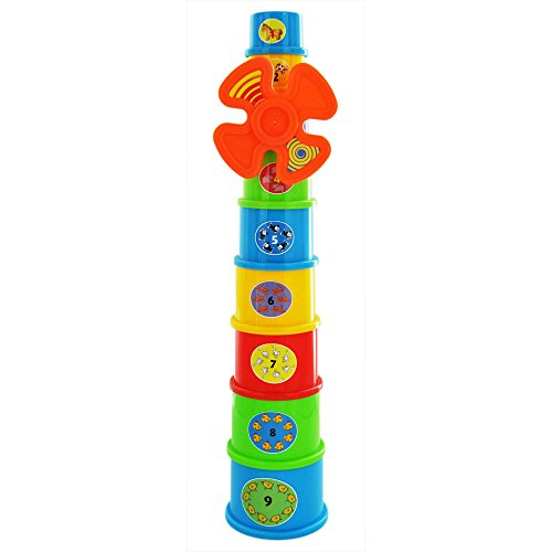 Funky Windmill Stacking Learning Cups - Suitable From 12 Months +  Funky Windmill Stacking Learning Cups 41 2B8Vh2CFhL