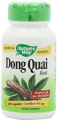 Nature's Way Dong Quai Root 565 mg (100 Capsules) from Nature's Way
