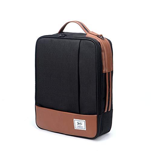 ZHAIFENGFENG1 Laptop Rucksack Aktentasche, stilvolle schlanke Laptop Rucksack Tasche, Handtasche geeignet für Arbeit/Studium/Freizeit/Reisen, schwarz -