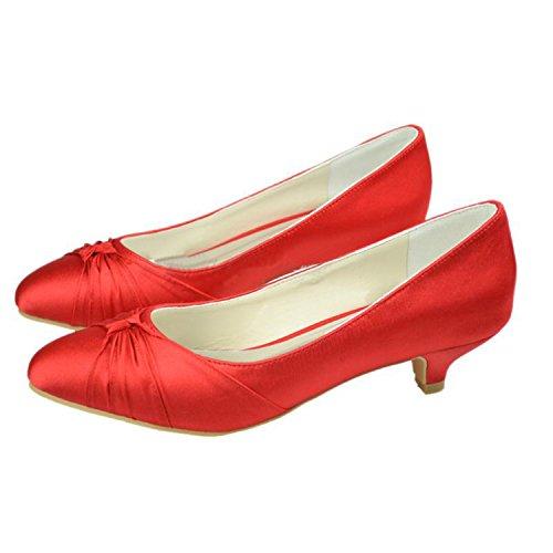 Minitoo , Escarpins pour femme Red-3.5cm Heel