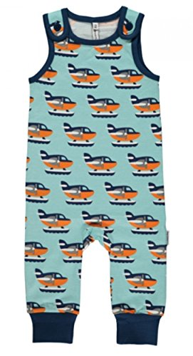 Maxomorra Baby Playsuit SEA PLANE 62/68