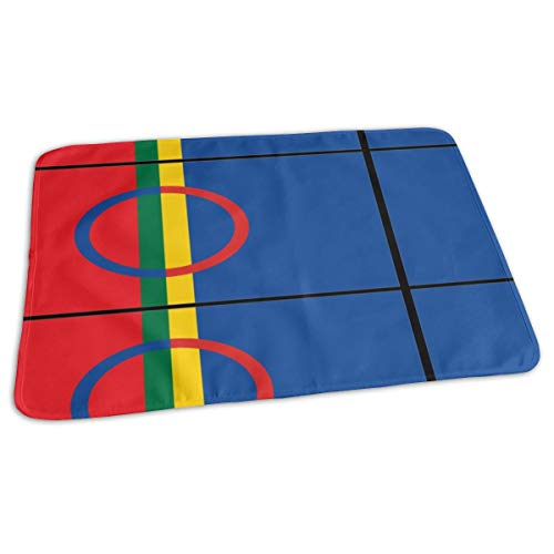 by Portable Reusable Changing Pad Mat 19.7x27.5 inch ()