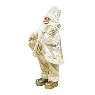 Amosfun Muñeco de Papá Noel Navidad Decoración Muñeca Adornos de Navidad Papá Noel para Decoración de Tienda Hogar