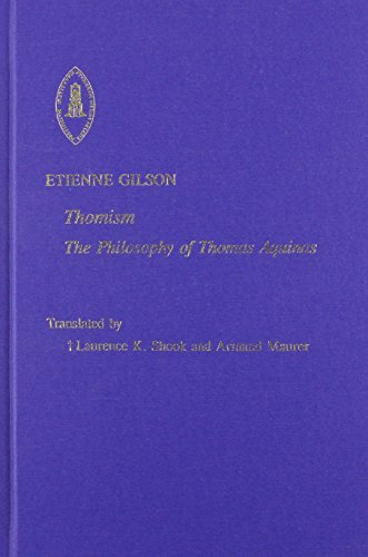 Thomism (Etienne Gilson Series) by Etienne Gilson (2002-01-01)
