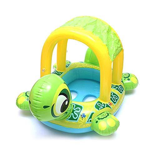 at, Schildkröte Aufblasbare Schwimm Float Ring, Infant Pool Float Schwimmbad Sonnenschirm Spielzeug für Baby Mädchen Jungen ()