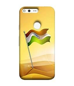StudioArtz Flagstaff Printed Mobile Phone Back Cover Case For Google Pixel [Designer Slim Fit Shock Proof Hard Unique Matte Finish]