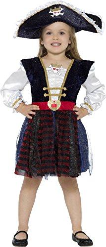 Smiffy's - bellissimo costume da piratessa dei caraibi, per bambini