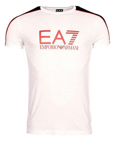 Armani Herren T-Shirt Weiß - weiß