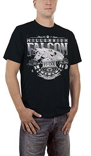 Touchlines Men's Millenium Falcon T-Shirt