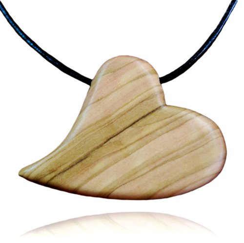 from-the-earth-olive-wood-heart-necklace-fair-trade-handmade