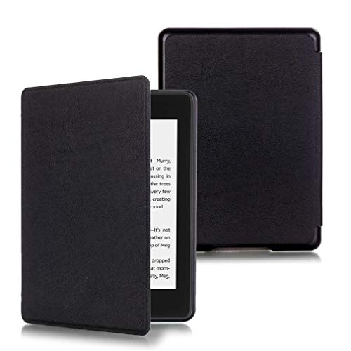 LMFULM® Case for Amazon Kindle Paperwhite (10th Generation - 2018 Release) PU Leather Ultra-Thin Magnetic Closure Leather Cover Custer Design of Bookstyle Stent Function Holster