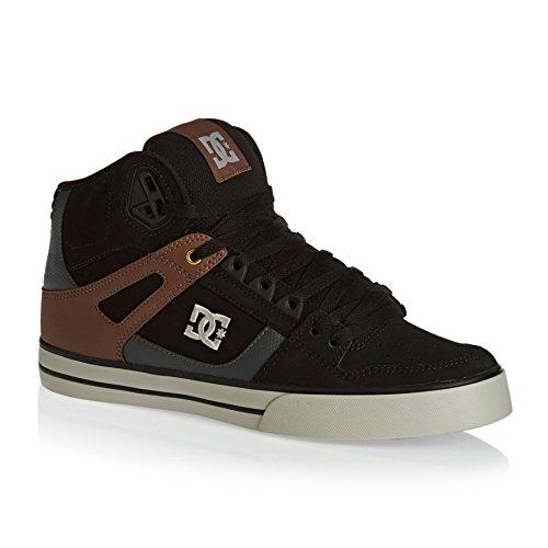 DC Shoes Spartan High WC, Baskets Hautes Homme Black/tan