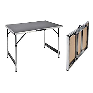 Campingtisch höhenverstellbar Tisch 100x60x73-94 Falttisch