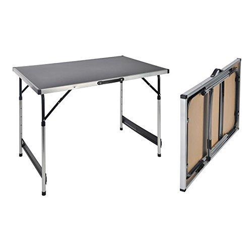Universaltisch 100x60x73cm Campingtisch 4-fach höhenverstellbar Falttisch Tisch