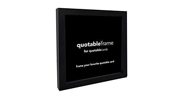 quotable cards frame